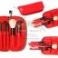 ชุดแปรงแต่งหน้า เซ็ทแปรงแต่งหน้ารุ่นพิเศษ Cerro Qreen six wool makeup brushes sets limited- Red (6 ชิ้น) thumbnail 2