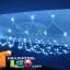 ไฟตาข่าย LED สีฟ้า ขนาดเล็ก thumbnail 4