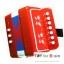 Mini Accordion For Kids - Red แอคคอร์ดเดียนสำหรับเด็ก thumbnail 1