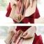 กระเป๋าสตางค์ KQUEENSTAR พร้อมส่ง สีน้ำตาล ดีเทลรูปกวาง น่ารัก ทรงเรียบหรู ใบยาว DESIGN สุดเก๋ ไฮโซมากๆ thumbnail 5