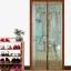 มุ้งประตูแม่เหล็ก สีน้ำตาล ลายลิงน่ารัก ขนาด 120x220 ซม. แม่เหล็ก้อน และเส้นแม่เหล็กในตัว thumbnail 1