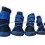 รองเท้าสุนัขโต สีน้ำเงิน-ดำ ลายรัดคอเท้า (4 ข้าง) thumbnail 3
