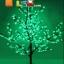 ไฟต้นเชอรี่ 1.5 m 480 led สีเขียว thumbnail 1