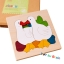 Uncle Wood - 3 layer Jigsaw Puzzle 'Duck Family' ตัวต่อจิ๊กซอว์ไม้-ครอบครัวเป็ด thumbnail 1