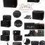 Cerro Qreen Professional Classic Makeup Box (Large Capacity) กระเป๋าใส่เครื่อสำอางค์แบบพกพา - สีดำ thumbnail 2