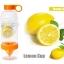 Juice Source ขวดทำ Infused Water สีส้ม 700 ml. thumbnail 1