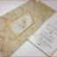 การ์ดแต่งงานสองพับ พิมพ์แนวตั้ง ขนาด 4x8.25 นิ้ว มีทั้งหมด 2 สี คือ สีชมพู รหัส A0191 สีครีม รหัส A0192(พิมพ์เฉพาะทองเงา) thumbnail 5