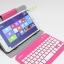 Keyboard Bluetooth พร้อมเคสวางตั้งได้ สำหรับแท็บเล็ต 7-8 นิ้ว thumbnail 1