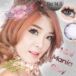 Mini Mania Gray Dreamcolor1 คอนแทคเลนส์ ขายส่งคอนแทคเลนส์ Bigeyeเกาหลี ขายส่งตลับคอนแทคเลนส์