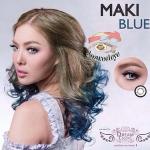 Maki Blue Dreamcolor1 คอนแทคเลนส์ ขายส่งคอนแทคเลนส์ Bigeyeเกาหลี ขายส่งตลับคอนแทคเลนส์