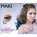 Maki Gray Dreamcolor1 คอนแทคเลนส์ ขายส่งคอนแทคเลนส์ Bigeyeเกาหลี ขายส่งตลับคอนแทคเลนส์