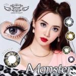 Monster Gray Dreamcolor1เลนส์นิ่มใส่สบาย คอนแทคเลนส์ ขายส่งคอนแทคเลนส์ ขายส่งBigeye บิ๊กอายเกาหลี