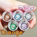 Orange Brown Dreamcolor1 คอนแทคเลนส์ ขายส่งคอนแทคเลนส์ Bigeyeเกาหลี ขายส่งตลับคอนแทคเลนส์ ขายส่งน้ำยาล้างคอนแทคเลนส์