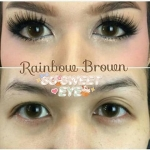 สั้น/power -100 RAINBOW BROWN DREAMCOLOR 1