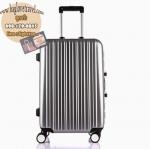กระเป๋าเดินทางไฟเบอร์ รุ่น Aluminium เงิน ขนาด 28 นิ้ว