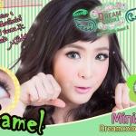 Camel Green Dreamcolor1 คอนแทคเลนส์ ขายส่งคอนแทคเลนส์ Bigeyeเกาหลี ขายส่งตลับคอนแทคเลนส์