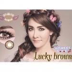 Lucky Brown Dreamcolor1 คอนแทคเลนส์ ขายส่งคอนแทคเลนส์ Bigeyeเกาหลี ขายส่งตลับคอนแทคเลนส์
