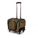 กระเป๋าเดินทางใบเล็ก รุ่น beauty ลายเสือ ขนาด 16 นิ้ว