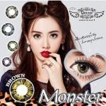 Monster Brown Dreamcolor1เลนส์นิ่มใส่สบาย คอนแทคเลนส์ ขายส่งคอนแทคเลนส์ ขายส่งBigeye บิ๊กอายเกาหลี