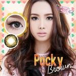 Pocky Brown Dreamcolor1เลนส์นิ่มใส่สบาย คอนแทคเลนส์ ขายส่งคอนแทคเลนส์ ขายส่งBigeye Bigeyeเกาหลี