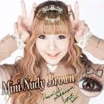Mini Nudy Brown Dreamcolor1 คอนแทคเลนส์ ขายส่งคอนแทคเลนส์ Bigeyeเกาหลี
