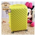กระเป๋าเดินทางไฟเบอร์ รุ่น TB เหลือง ขนาด 28 นิ้ว