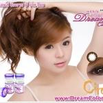 Circle Brown Dreamcolor1 คอนแทคเลนส์ ขายส่งคอนแทคเลนส์ Bigeyeเกาหลี ขายส่งตลับคอนแทคเลนส์