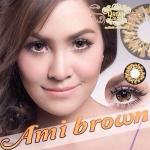 Ami Brown Dreamcolor1 คอนแทคเลนส์ ขายส่งคอนแทคเลนส์ Bigeyeเกาหลี ขายส่งตลับคอนแทคเลนส์