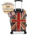 กระเป๋าเดินทางแฟชั่น แนวๆ ลายธงชาติอังฤษ ขนาด 20 นิ้ว