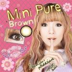 Mini Pure2tone Brown Dreamcolor1 คอนแทคเลนส์ ขายส่งคอนแทคเลนส์ Bigeyeเกาหลี