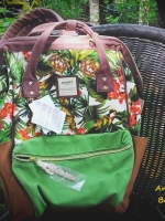 Anello Limited Regular Printed Navy-pine --White-pine ---Botanical พร้อมส่ง!!