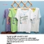 Cube sugar เสื้อยืดเนื้อนิ่ม สไตล์ญี่ปุ่น สกรีนลายด้านหน้า thumbnail 2