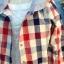 SM2 เสื้อคุลมลายสก้อตสไตล์ญี่ปุ่น มี hood thumbnail 4