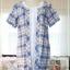เดรสผ้าฝ้าย สไตล์ญี่ปุ่น เสมือน 2 ชิ้น ผ้าลายสก้อต(สีโทนชมพู) thumbnail 1