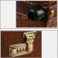 กระเป๋าเดินทางวินเทจ รุ่น vintage classic น้ำตาลเลือดหมูคาดน้ำตาล ขนาด 22 นิ้ว thumbnail 7