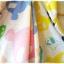 Joky gal เสื้อคลุมผ้ายืด มี hood ลายกระโหลก สีเหลือง thumbnail 10