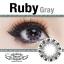 Ruby Gray Dreamcolor1 เลนส์นิ่มใส่สบาย บิ๊กอายเกาหลีแท้100% ขายส่งคอนแทคเลนส์ ขายส่งBigeye thumbnail 2