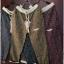 กางเกงขายาว ผ้าฝ้ายสไตล์ญี่ปุ่น ลายกราฟฟิครูปใบไม้ thumbnail 2