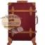 กระเป๋าเดินทางล้อลากวินเทจ รุ่น vintage retro สีช็อกโกแลต เซ็ตคู่ ขนาด 12+22 นิ้ว thumbnail 2