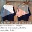 9am เสื้อยืด คอกลม แต่งผ้าสลับสีไขว้ thumbnail 1