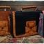 กระเป๋าหนัง pu รุ่นสะพายไหล่ แต่งโบว์ด้านหน้า thumbnail 3