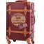 กระเป๋าเดินทางล้อลากวินเทจ รุ่น vintage retro สีช็อกโกแลต เซ็ตคู่ ขนาด 12+22 นิ้ว thumbnail 3