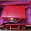 กระเป๋าเดินทางวินเทจ รุ่น spring colorful แดงคาดแดงล้วน ขนาด 24 นิ้ว thumbnail 3
