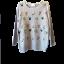aegean sea เสื้อสเวตเตอร์ ไหมพรมเนื้อนิ่ม ใส่อุ่น แต่งดอกไม้ถักน่ารัก thumbnail 2