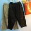 กางเกงลำลอง ขา 5 ส่วน สีพื้น แต่งแถบเล็ก thumbnail 7