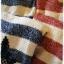 เสื้อไหมพรมกันหนาว สไตล์ญี่ปุ่น ลายริ้ว สีกรมท่า แต่งชายลูกไม้สีดำ thumbnail 9