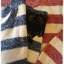 เสื้อไหมพรมกันหนาว สไตล์ญี่ปุ่น ลายริ้ว สีกรมท่า แต่งชายลูกไม้สีดำ thumbnail 8