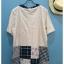 เสื้อยืดคอกลม สไตล์ญี่ปุ่น แพทชเวิรค thumbnail 4