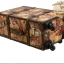 กระเป๋าเดินทางวินเทจ รุ่น vintage classic ลายซองจดหมาย ขนาด 24 นิ้ว thumbnail 6