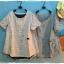 เสื้อผ้าฝ้ายลายสก้อตสไตล์ญี่ปุ่น เนื้อผ้านิ่มมากๆ thumbnail 7